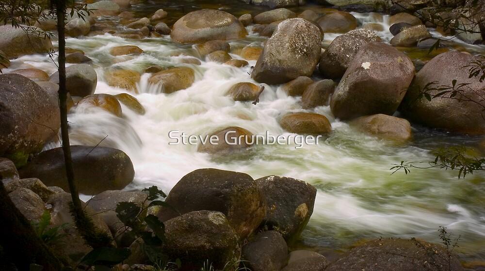 Mosman River - Northern Queensland by Steve Grunberger