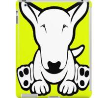 English Bull Terrier Strange Sit  iPad Case/Skin