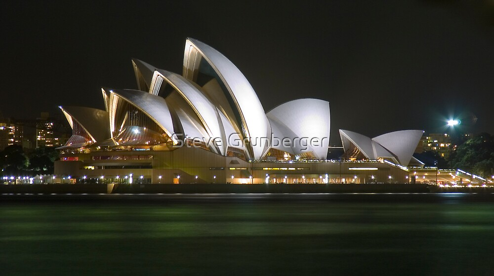 Sydney Opera House - Australia by Steve Grunberger