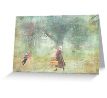 Two Worlds Greeting Card