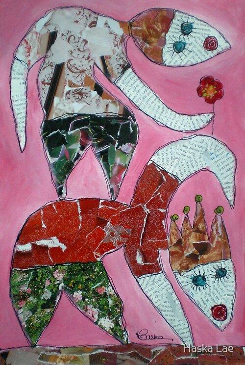 L'avant-deux (original paper sold out) by Haska Lae