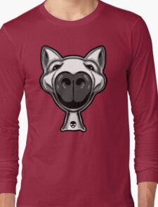 English Bull Terrier Hello Long Sleeve T-Shirt