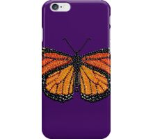 The KING of Butterflies, a Monarch iPhone Case/Skin