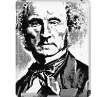 John Stuart Mill iPad Case/Skin