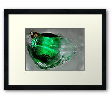 Freezing Christmas for the rest of the year Framed Print