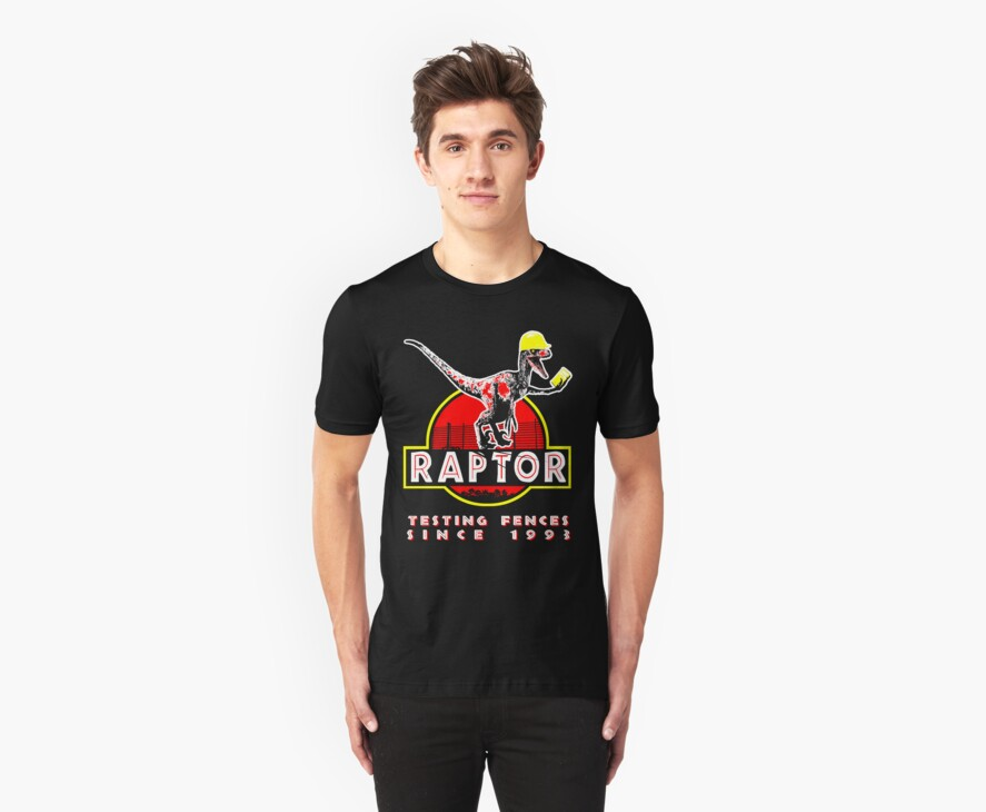 Raptor. Testing fences since 1993. by Jackpot777
