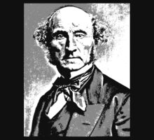 John Stuart Mill by IMPACTEES