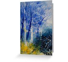 watercolor 111107 Greeting Card