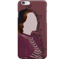 This World Will Remember Us - Bonnie and Clyde iPhone Case/Skin