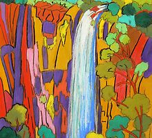 Purlingbrook Falls 2 by Virginia McGowan