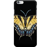 Bedazzled Tiger Swallowtail Butterfly iPhone Case/Skin