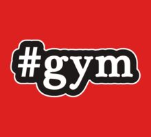 Gym - Hashtag - Black & White Kids Clothes