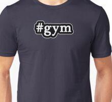 Gym - Hashtag - Black & White Unisex T-Shirt