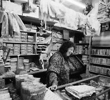 Haberdashery Shop-Newtown Wellington 1972 by Paul Martin