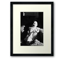 The China Doll Framed Print