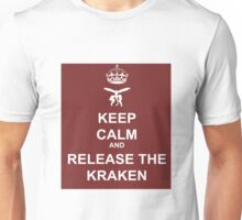 Keep Calm and Release the Kraken Unisex T-Shirt