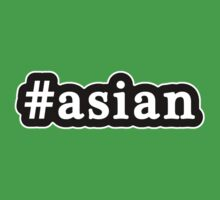 Asian - Hashtag - Black & White Kids Clothes