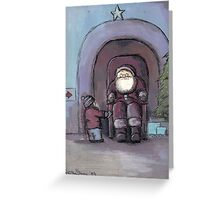 Santa's Grotto Greeting Card