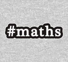 Maths - Hashtag - Black & White Kids Clothes