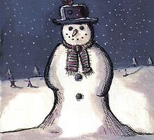 Snowman by Andy  Housham