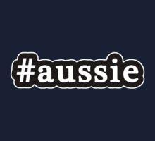 Aussie - Hashtag - Black & White One Piece - Short Sleeve