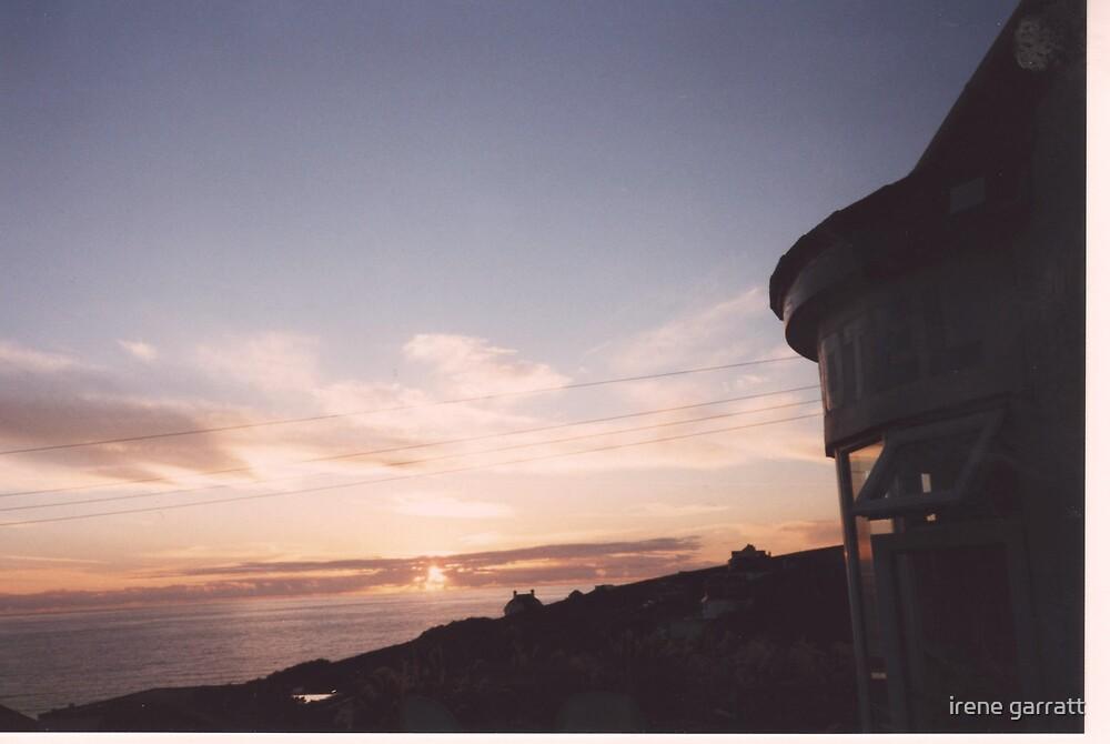 Evening sky in Cornwall by irene garratt