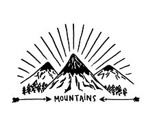 Mountains by lspiroo