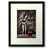 Laneway Flamenco Framed Print