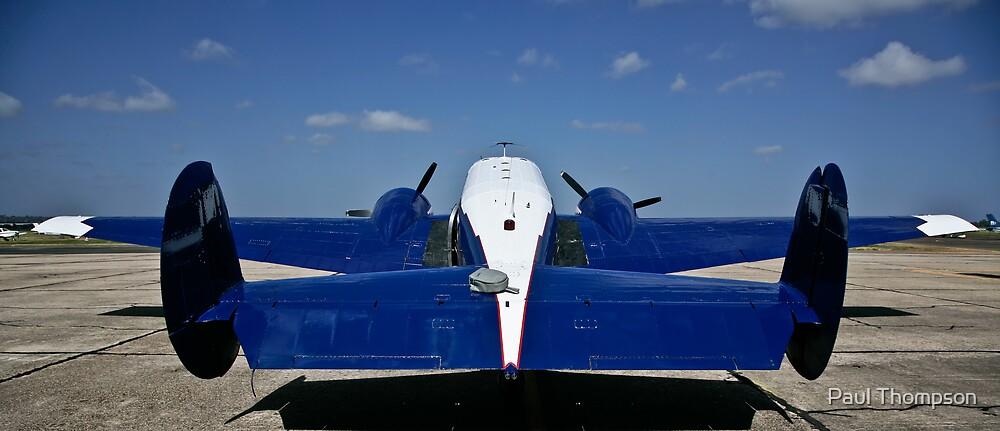 Beechcraft D18S by Paul Thompson