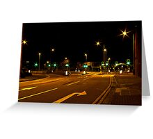 Quiet Streets Greeting Card