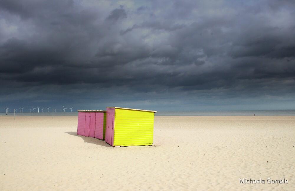 Beach Huts by Michaela Gamble