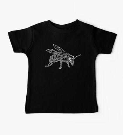 """Bee Spirit"" ver.2 - Surreal abstract tribal bee totem animal Baby Tee"