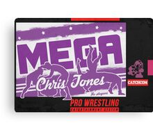 """Mega"" Chris JoneSNES Canvas Print"