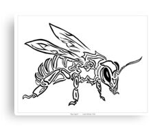 """""""Bee Spirit"""" ver.1 - Surreal abstract tribal bee totem animal Canvas Print"""