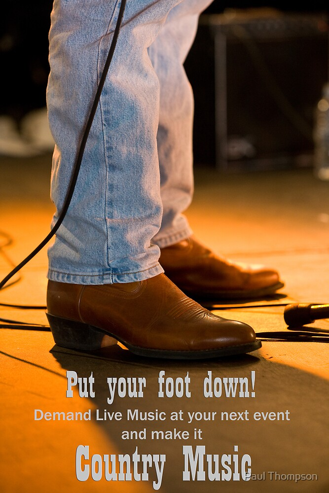 Make a Stand for Country Music by Paul Thompson