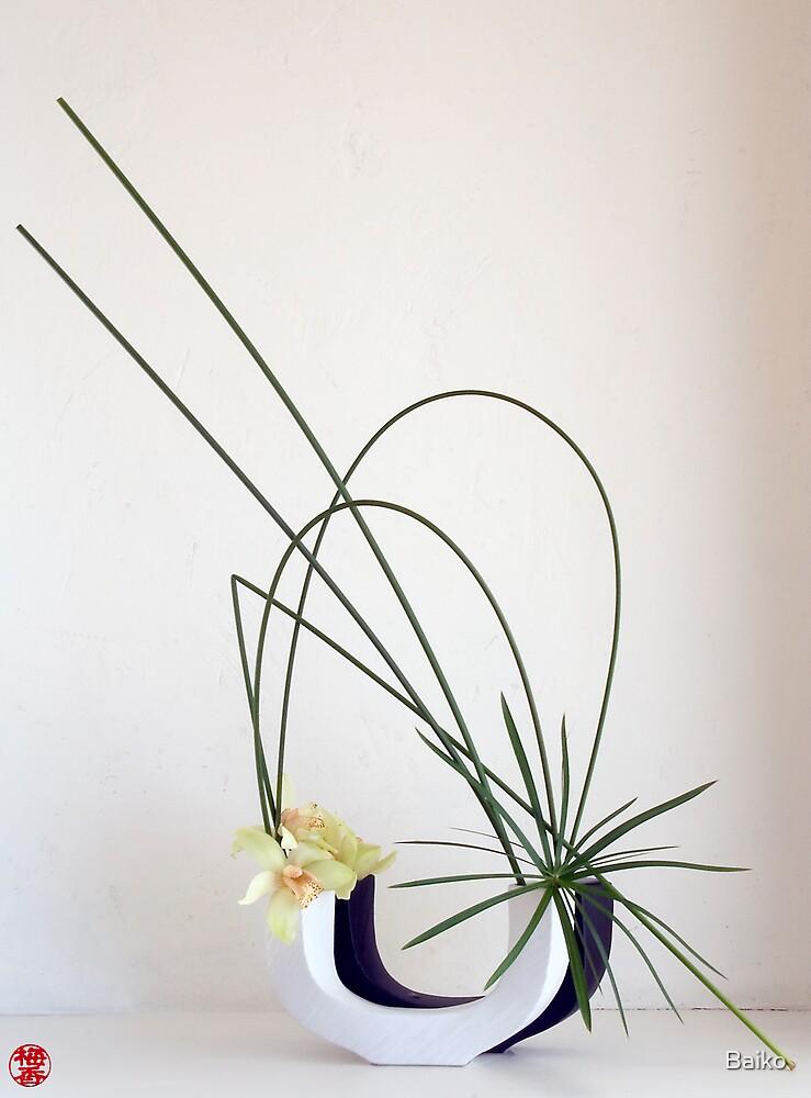 Ikebana-018 by Baiko