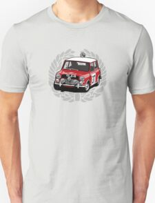 Fortitude - Mini Cooper 'Paddy Hopkirk 37 Wreath' T-Shirt
