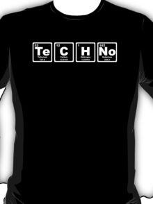 Techno - Periodic Table T-Shirt