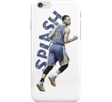 "Stephen Curry ""SPLASH"" iPhone Case/Skin"