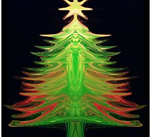OChristmas Tree Photographic Print