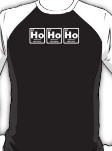 Ho Ho Ho - Christmas - Santa Claus - Periodic Table T-Shirt