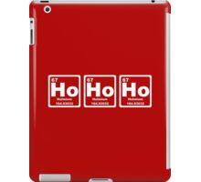 Ho Ho Ho - Christmas - Santa Claus - Periodic Table iPad Case/Skin