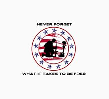 Fallen Soldier  Never Forget Unisex T-Shirt