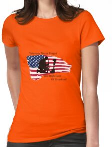 Cost of Freedom Womens Fitted T-Shirt