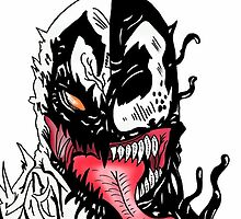 Anti Venom Face by semackj