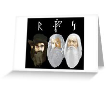 The Hobbit - The Wizards Greeting Card