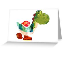 The Very Hungry Dinosaur (No Text) Greeting Card