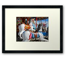 Empty horses Framed Print