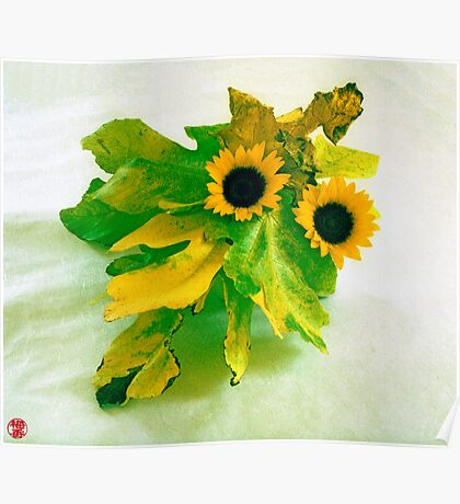 Ikebana-009 Poster