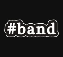 Band - Hashtag - Black & White Kids Clothes